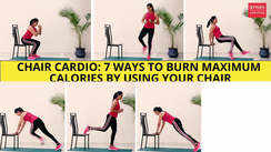 Chair cardio: 7 ways to burn maximum calories by using your chair