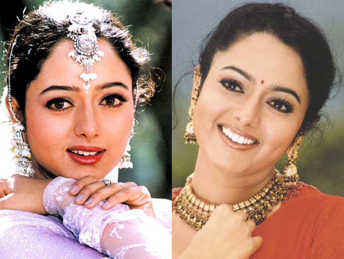 Soundarya's 44th Birth Anniversary: Remembering the evergreen actress of  Telugu cinema | The Times of India
