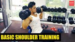 Basic shoulder training