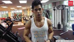 Gym abs training
