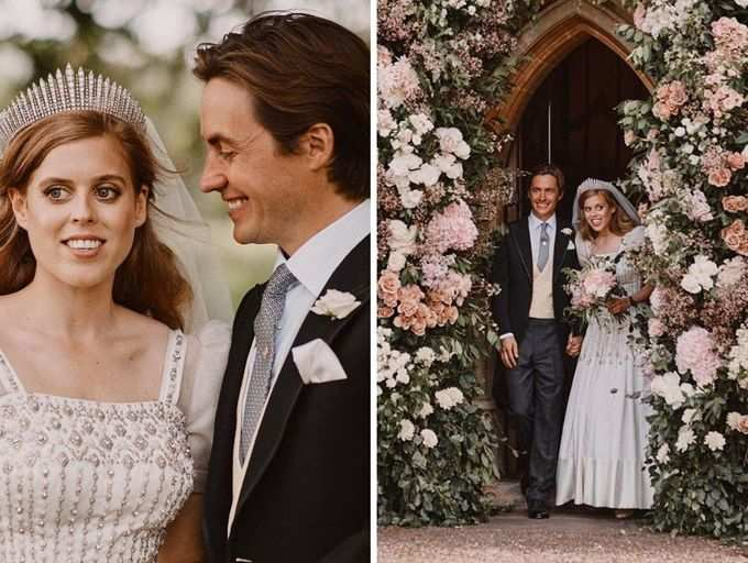From Her Wedding Dress To Her New Royal Title Here Is Everything You Need To Know About Princess Beatrice S Secret Wedding The Times Of India