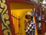 Tusshar Kapoor at Mukteshwar temple