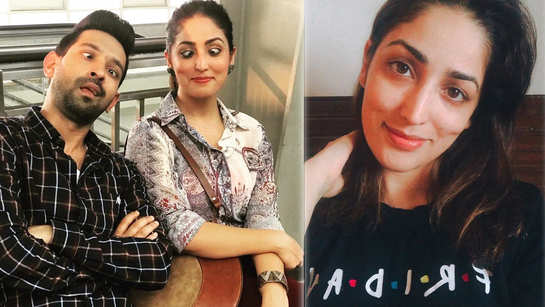 Yami Gautam's new selfie is absolutely flawless, fans believe her T-shirt has a 'Friends' connection
