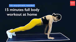 No equipment needed: 15 minutes full body workout at home