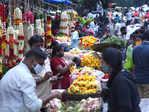 Festival shoppers throng markets ahead of Varamahalakshmi