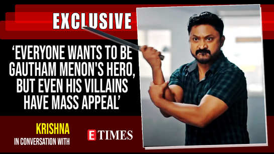Krishna: Everyone wants to be Gautham Menon's hero, but even his villains have mass appeal