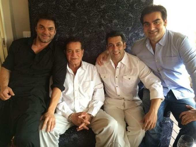 Happy Birthday, Arbaaz Khan: Adorable pictures of the birthday boy with his brother Salman Khan and other family members |  The Times of India