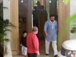 Taimur and Saif Ali Khan