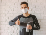 Use of mask and face covers is mandatory; visors to be used during exercising