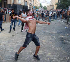 Beirut explosion: Anti-government protests intensified in Lebanon