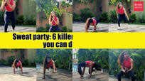 Sweat party: 6 killer HIIT exercises that you can do at home