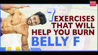 7 exercises that will help you burn belly fat