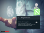 Add a biometric lock to add an extra layer of protection against unauthorised access to WhatsApp chats