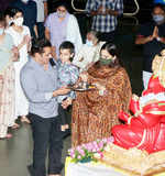 Celebs bid goodbye to Ganesha