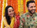 Engagement pictures of Bollywood actor & choreographer Punit Pathak go viral​
