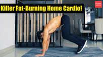 Killer fat-burning home cardio