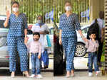 ​Kareena Kapoor Khan's blue co-ord set is perfect for early pregnancy days