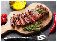 Red meat that is piping hot can cause heart attack