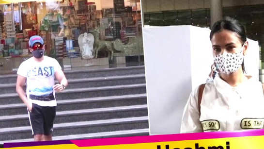 Clicked! Sonal Chauhan looks uber cute in her airport look, Emraan Hashmi with wife Parveen Shahani spotted