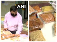Visually impaired man turns 'Atmanirbhar', starts selling homemade snacks after losing job during pandemic