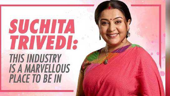 Suchita Trivedi: This industry is a marvellous place to be in