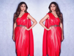 Leather sari