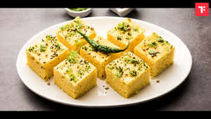 Day 7: 1 Week Healthy Indian Breakfast Plan (Dhokla)