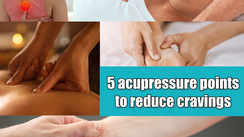 5 acupressure points to reduce cravings