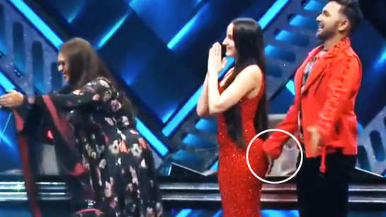 Video of Terence Lewis' hand brushing against Nora Fatehi's butt surfaces online, netizens slam the choreographer