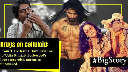 From 'Hare Rama Hare Krishna' to 'Udta Punjab', Bollywood's love story with drugs