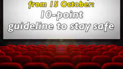 Cinema halls to open from 15 October: 10-point guideline to stay safe
