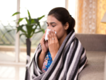 What should you do in case you develop a runny nose and congestion?