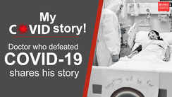 Doctor who defeated COVID-19 shares his story