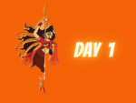 Navratri Day 1 Colour
