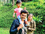 Ganesh Venkatram holidays in Coorg with his family