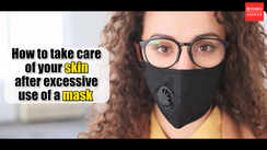 How to take care of your skin after excessive use of mask