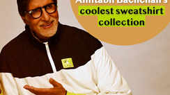 Amitabh Bachchan's coolest sweatshirt collection