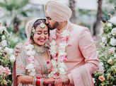 Unmissable pictures from Neha Kakkar and Rohanpreet Singh's wedding ceremonies