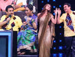 Taarak Mehta's Dilip Joshi shakes a leg with fake Dayaben and India's Best Dancer judge Malaika Arora; in pics