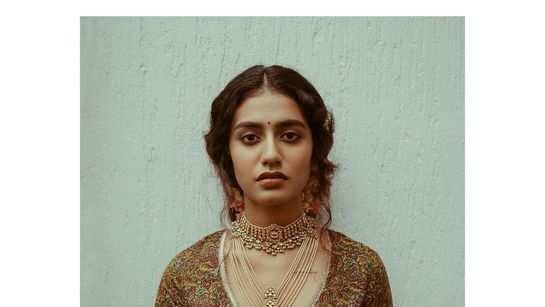 Video of Priya Prakash Varrier's latest photoshoot is breathtakingly beautiful