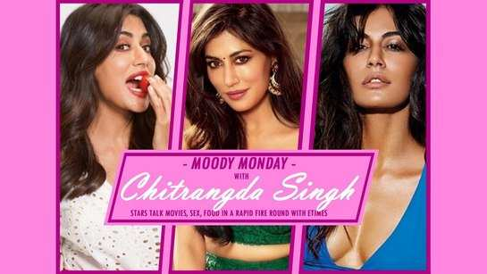 #MoodyMonday: Chitrangda Singh gives some interesting answers on fashion, food and stalking – Times of India