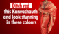 Ditch red this Karwa Chauth and look stunning in these colours