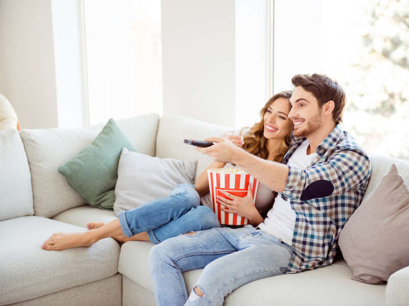 You love watching series together