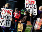 US Elections: Thousands rally to 'protect the vote'