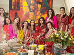 B'wood divas paint the town red as they celebrate Karwa Chauth at Anil Kapoor's residence