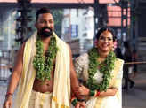 'Kudumbavilakku' star Saranya Anand ties the knot with Manesh Ranjan