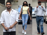 Spotted: Ananya Panday, Siddhant Chaturvedi, Rajat Kapoor