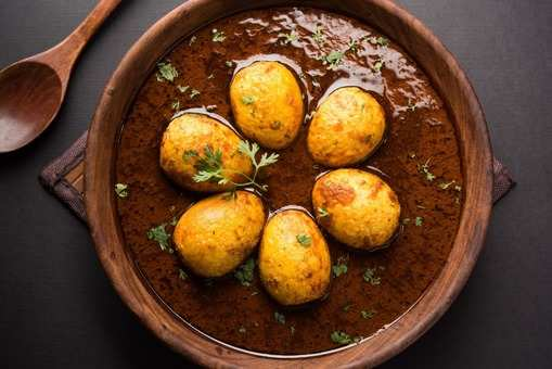 Kolhapuri Egg Curry