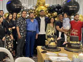MS Dhoni's wife Sakshi shares fun pictures from her birthday party