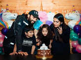 Inside pictures from Allu Arjun's daughter Allu Arha's grand birthday party